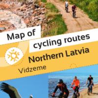 Cycle Map Vidzeme in ENGLISH
