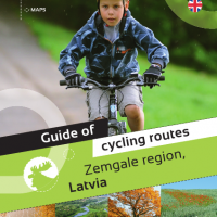 Cycle routes in Zemgale (booklet) ENGLISH
