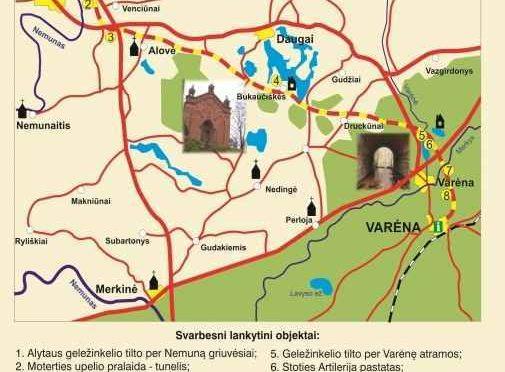 Alytus-Varėna (buv. Geležinkelio trasa)