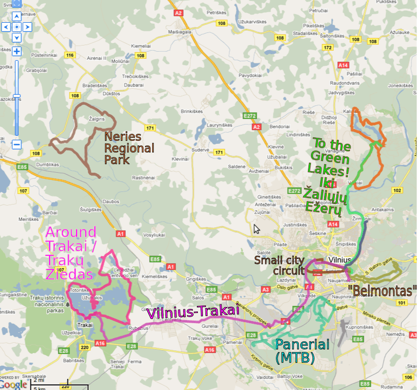 Cycling in Vilnius - Velo-city Vilnius on map old town copenhagen, map chicago old town, map prague old town, map bucharest old town, map salzburg old town,