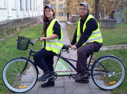 Stadttouren per Fahrrad (Velo) in Vilnius / Wilna - VILNIUS BIKE TOURS