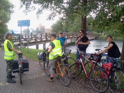 Trakai by bike