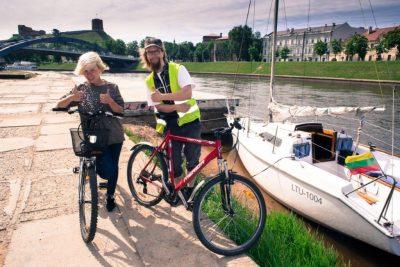 Biking and Canoeing in Vilnius