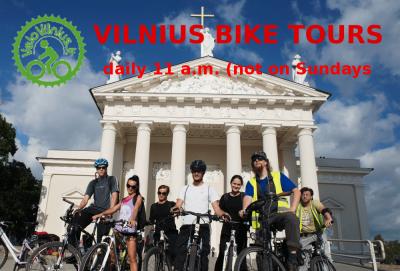 Dviračių ekskursijų sezonas prasideda Gegužės 1 d. su miesto ekskursijomis ir žygiais kalnų dviračiais KASDIEN!