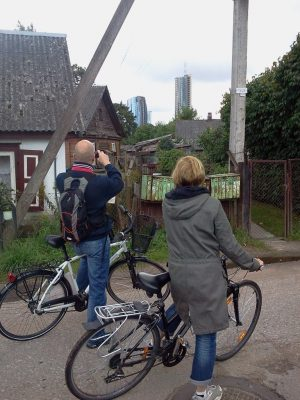 Vilnius - city of contrasts,  a full day bike tour (4-6 hrs.)