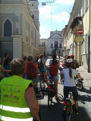 Willlkommen in Vilnius, Kurze Stadtradtour (2–3 Std.)