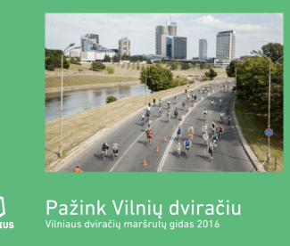 New bicycle map for Vilnius available for free!