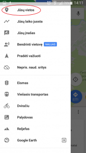 How to follow your GPS-Navigation on your mobile phone?