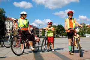 "New project: ""Family days on two wheels"" in Vilnius"