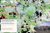 Bike routes around Trakai