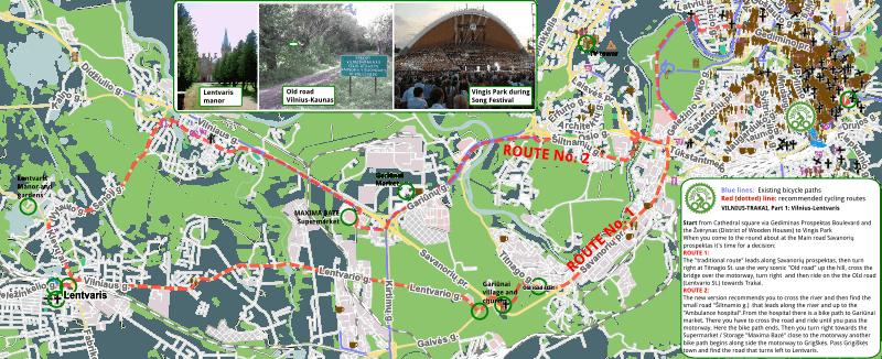 Trakai by bike (link)