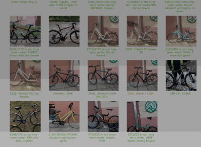 Finally Spring! And we start it with a BIKE SALE?