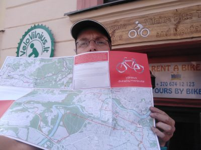 """Get a new """"Bicycle routes in Vilnius"""" map 2020!"""