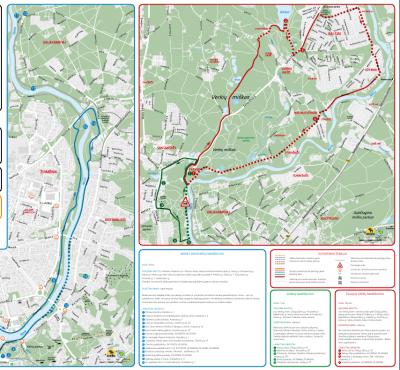 Neries Upės ir Verkių maršrutai [1] Žalieji ežerai & Europos parkas