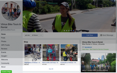 Vilnius Bike Tours on Facebook