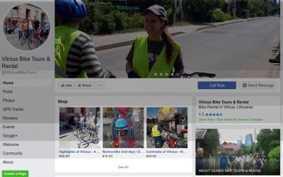 Vilnius Bike Tours on Facebook